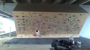 The Burnley Climbing wall (# 3/3)